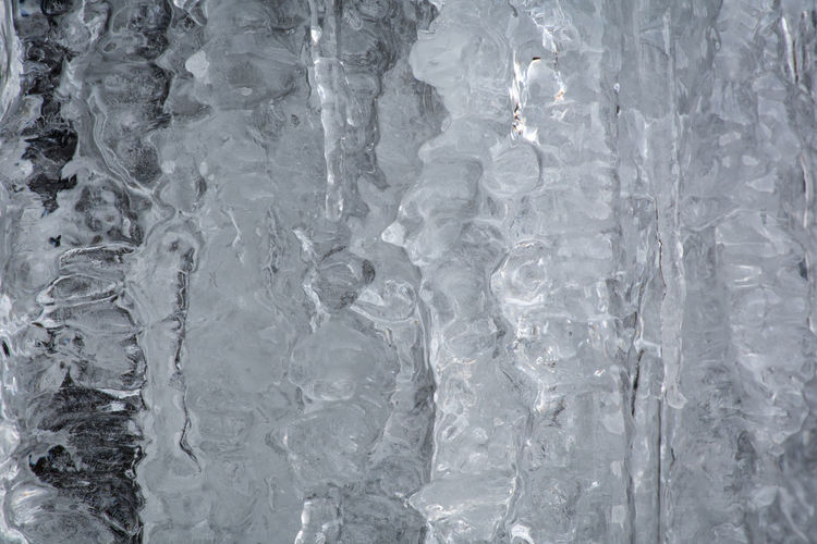Stone and Ice Abstract Pattern Pieces Cold Grey Ice Icicles Icy Nature Power In Nature Texture Water Wet Winter Winter Wonderland Showcase: January It's Cold Outside