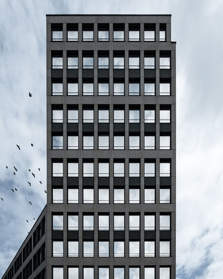 Autumnmoodbuilding Ralfpollack_fotografie Fujix_berlin Architecture Built Structure Building Exterior Building No People Day City Outdoors Window Modern Skyscraper Apartment Sky Cloud - Sky Office Building Exterior Low Angle View Tall - High 17.62°