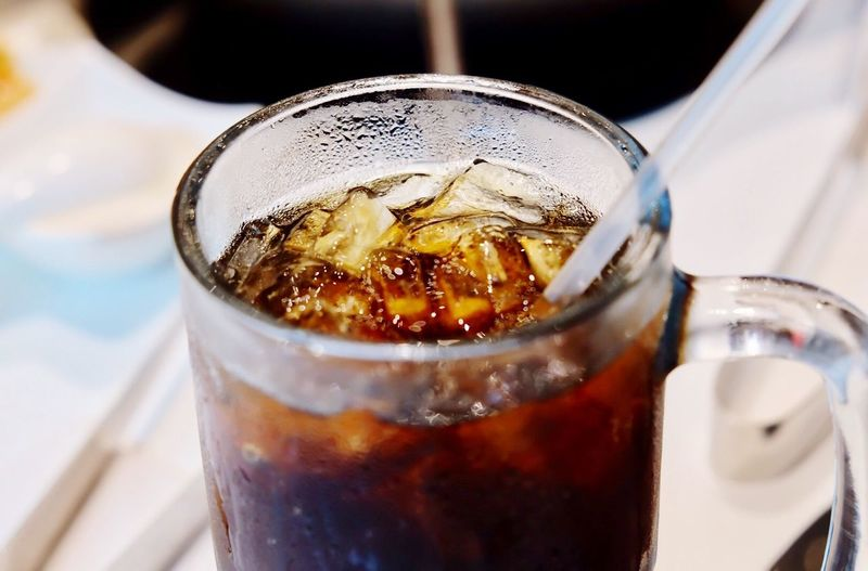 Close-up of cold drink