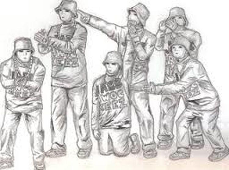Jabbawockeez Drawing