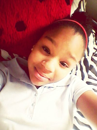 Just came from school