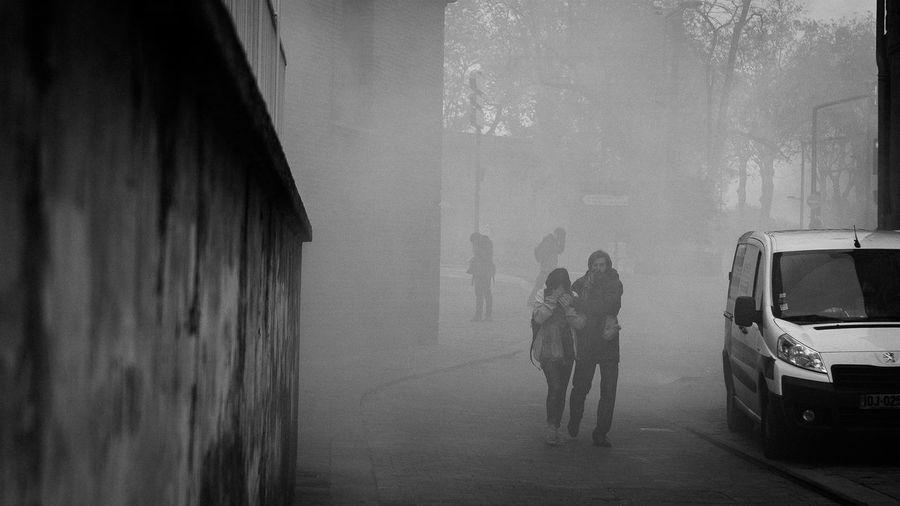 gas fog