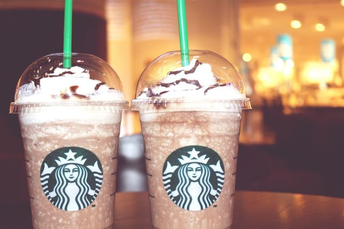 Starbucks Coffee Drink Food And Drink Tea - Hot Drink Ice Close-up Cold Temperature No People Day