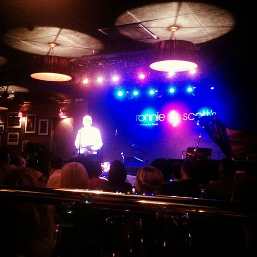 Ronnie Scott's on a Thursday afternoon. It might not be Jaaazz, but it is Nice. PPLUK RonnieScotts Jazz Nice