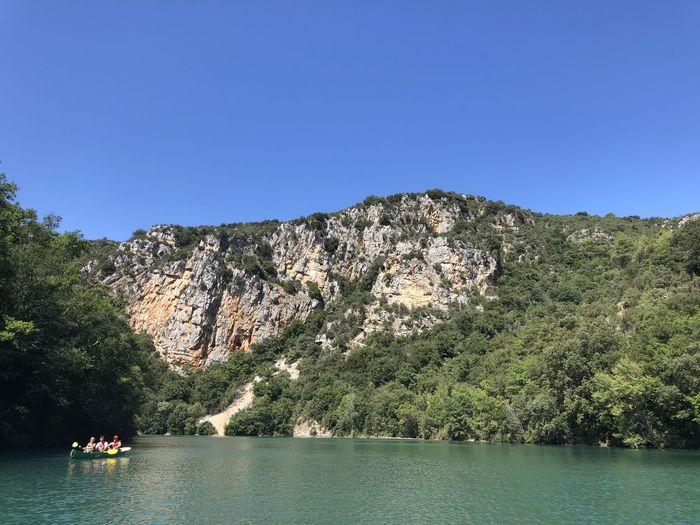 Creek Boat Trip
