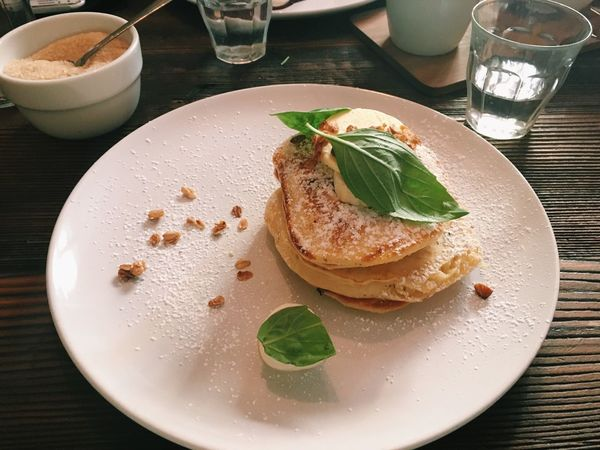 Pancakes Brunch Breakfast Food On My Plate