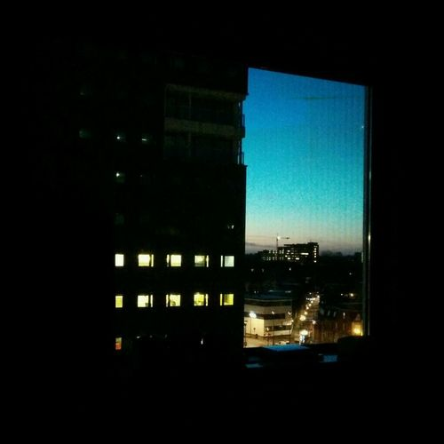 The view and a sunrise Wake Up Tilburg 7am  Cityscapes