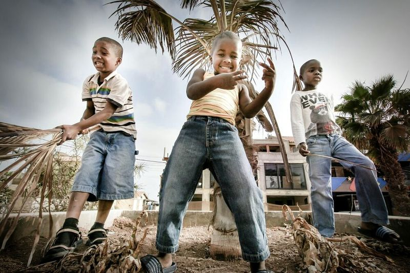 """""""Because I'm happy... """" Taking Photos Cool Kids Happy People Children Photography Kidsphotography Streetphotography Hanging Out Cape Verde From My Point Of View Hello World"""