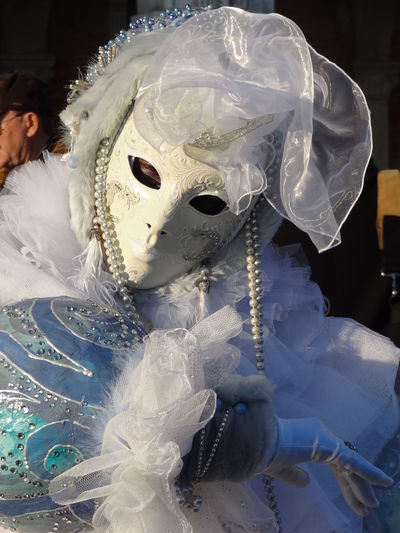 Pretending Vacations Venice Caarnaval Carnival Close-up Day Mask - Disguise Venetian Mask