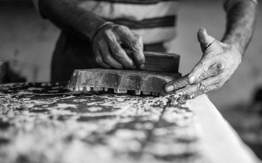 Human Hand Hand Working Occupation Human Body Part One Person Craft Art And Craft Selective Focus Creativity Skill  Craftsperson Preparation  Close-up Indoors  Holding Business Work Tool Men Chisel Finger