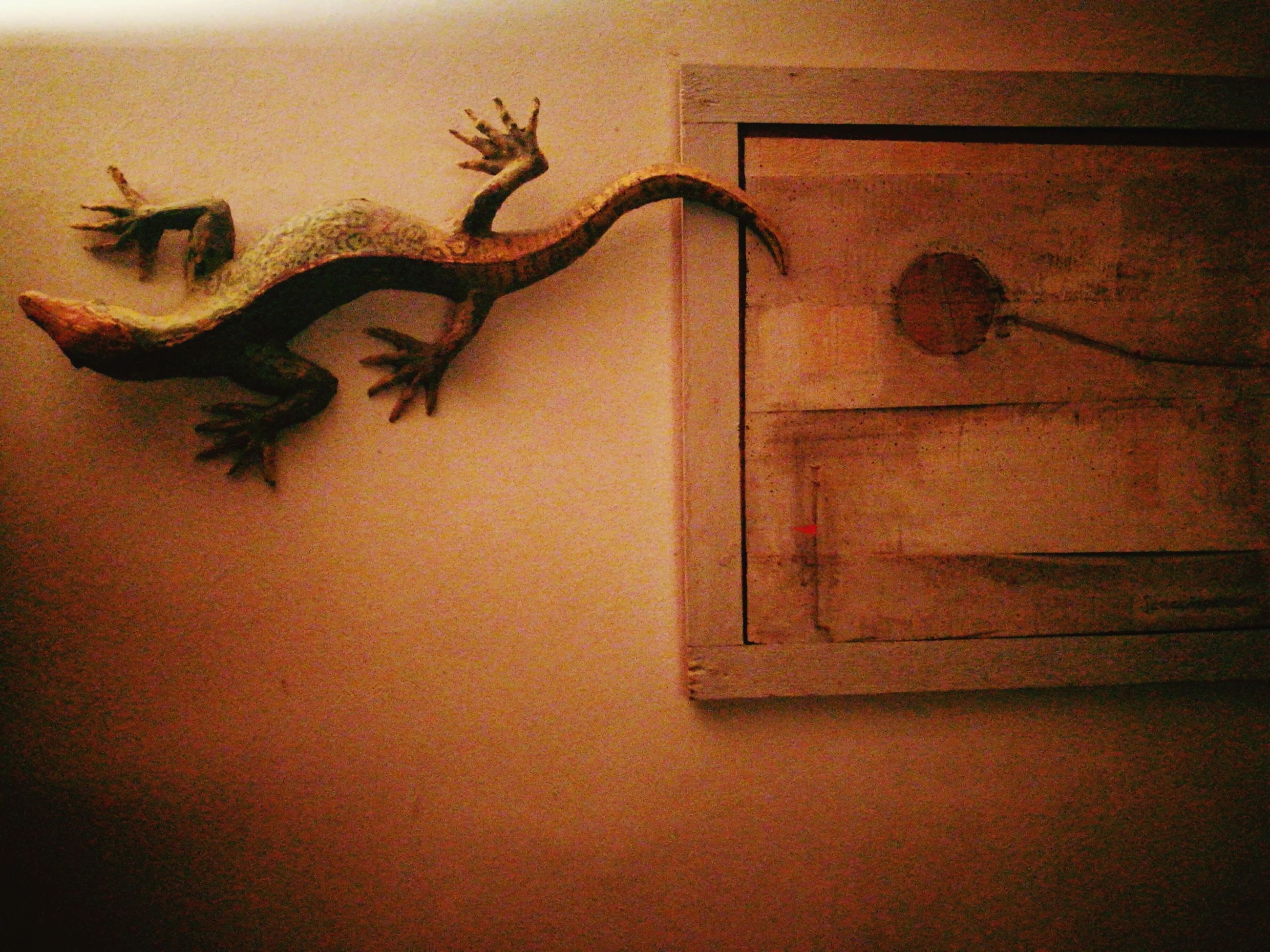 drawing - art product, lizard, no people, animal themes, close-up, indoors, antler, mammal, day