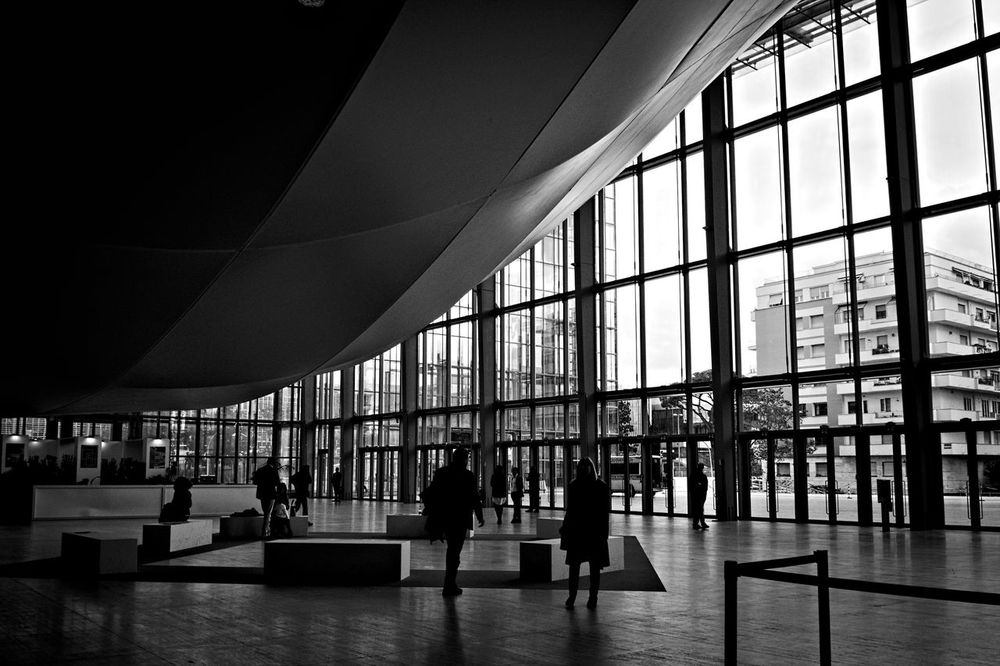 Architecture Built Structure City Day Indoors  Large Group Of People Library Lifestyles Men Modern Museum People Real People Standing Travel Travel Destinations Window Women Business Stories Stories From The City Adventures In The City Focus On The Story The Architect - 2018 EyeEm Awards The Street Photographer - 2018 EyeEm Awards A New Beginning