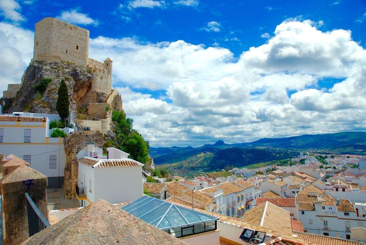 Way of the Moors Andalucia Spain Architecture Building Exterior Built Structure Cloud - Sky Day Mountain Nature No People Outdoors Roof Sky Town