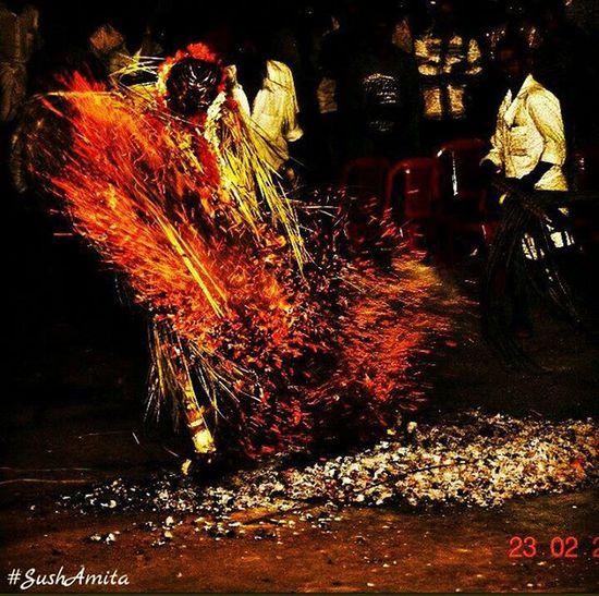 Fire FirePlay Natgeoindia Natgeo Natgeotravel Natgeotravelpic Nikonphotography Nikon Outdoorphotography Photo Ig_karnataka Ig_india Mangalore Mangaluru Karnataka