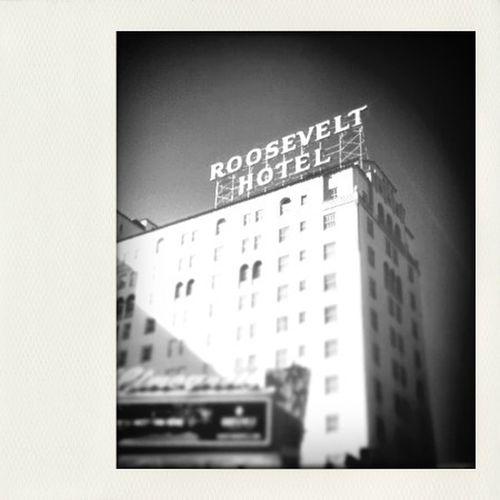 when in LA, Roosevelt