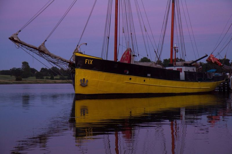 Altes Boot in Kappeln Ships Kappeln