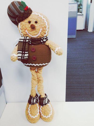 So cute! Gingerbreadman Xmas