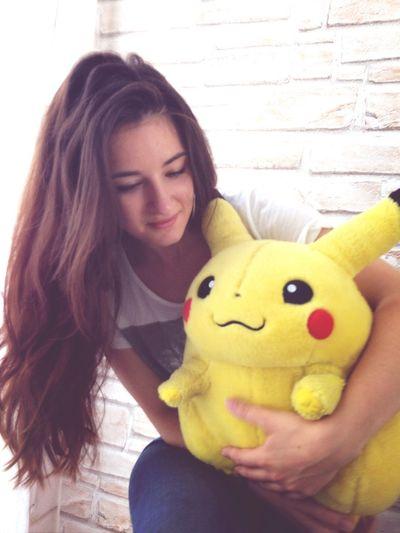 Pikatchu Pikachu Long Hair Picoftheday