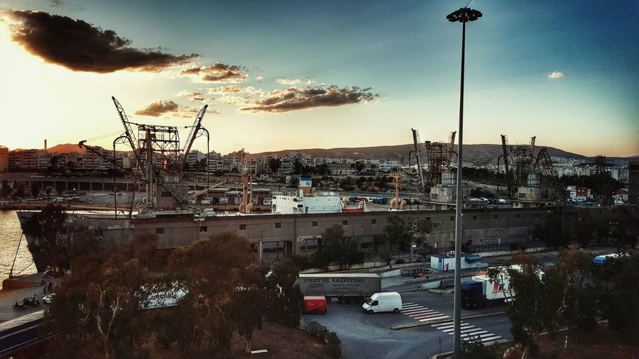 The Great Outdoors - 2016 EyeEm Awards Port View Port Life Old Ship Cargo Ship Cargo Container Vessels In Port Vessel Industrial Area Industrial Photography Industrial Landscapes Industrial Zone Customs Golden Hour Malephotographerofthemonth From My Point Of View From Where I Stand Miles Away