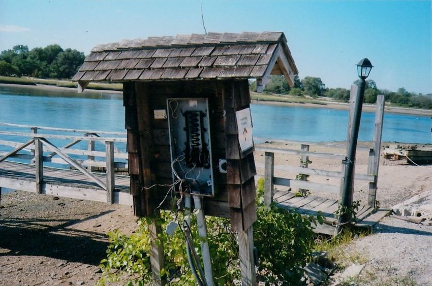 Abandoned Architecture Broken Building Exterior Built Structure Damaged Day Deterioration No People Obsolete Old Outdoors Payphone Payphones Ruined Wood Wood - Material Wooden 35 Mm Film