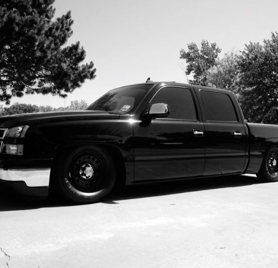 Miss my old Chevy truck.... Black Silverado♥ Truck Chevrolet Car Transportation Mode Of Transport Day No People