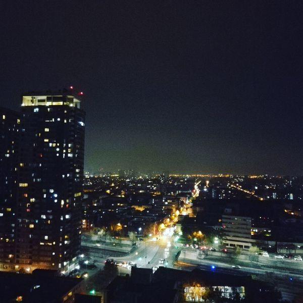 Night Illuminated Cityscape Building Exterior Nightlife Urban Skyline No People Built Structure Architecture City Nigth 🌜⭐️ Santiago De Chile Que otoño más frío