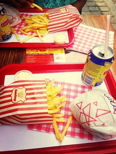 Burger Eating