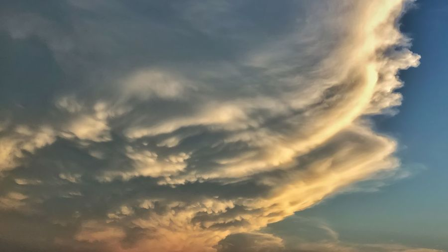 Stir the Pot Cloud - Sky Sky Beauty In Nature Tranquility Sunset Scenics - Nature Tranquil Scene No People Nature Outdoors Dramatic Sky Sunlight Environment Cloudscape Dusk Meteorology