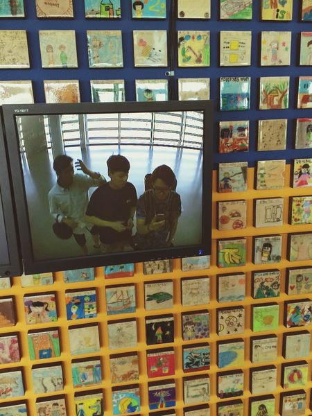 with my brothers :) Art Gallery Ansan Vans First Eyeem Photo