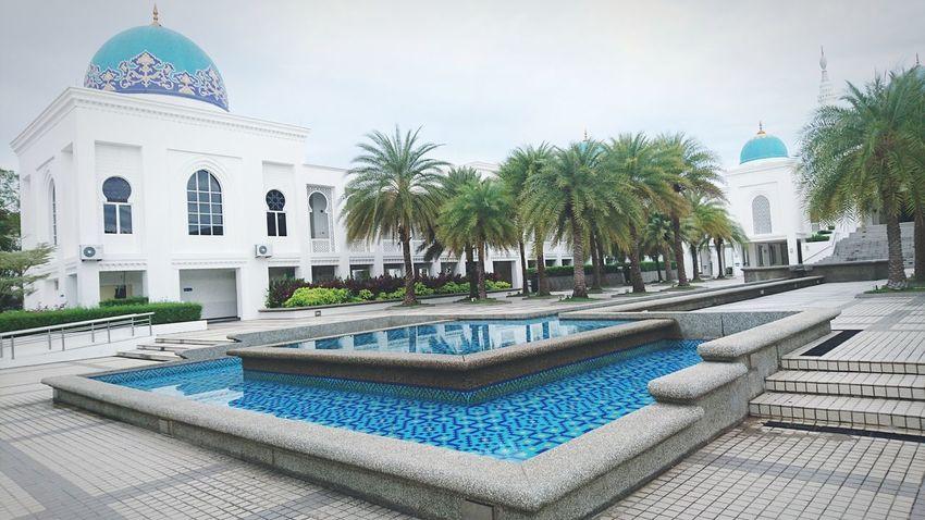 Building Exterior Palm Tree Outdoors At Alor Setar Malaysia