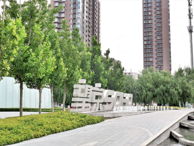 Architecture Building Exterior Tree Built Structure Green Color Skyscraper Outdoors Day No People City Growth Nature Sky