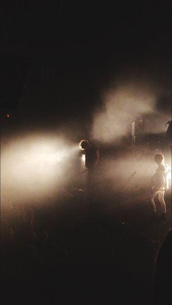 Band Koncert Stage Light Shadow People Music Denmark City Art Smoke