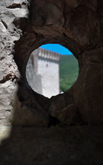 Extreme Sports Adventure Leaving Old Ruin Bridge - Man Made Structure Form Tunnel Stone Wall Fortified Wall Fortress Castle Medieval Past
