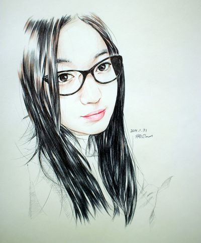 Ryu Ballpoint Painting Drawing Paint Esedy