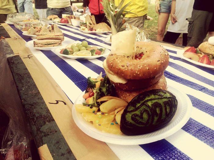 ビーチパーティー Lunch Picnic