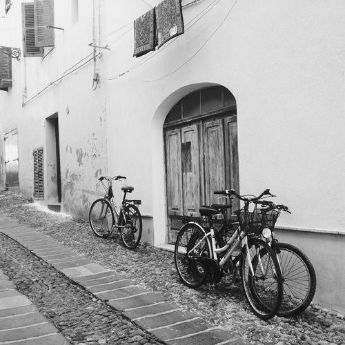 Bikes in Alghero * AMPt - Street NEMstreet Amptcommunity_street EyeEm Bnw