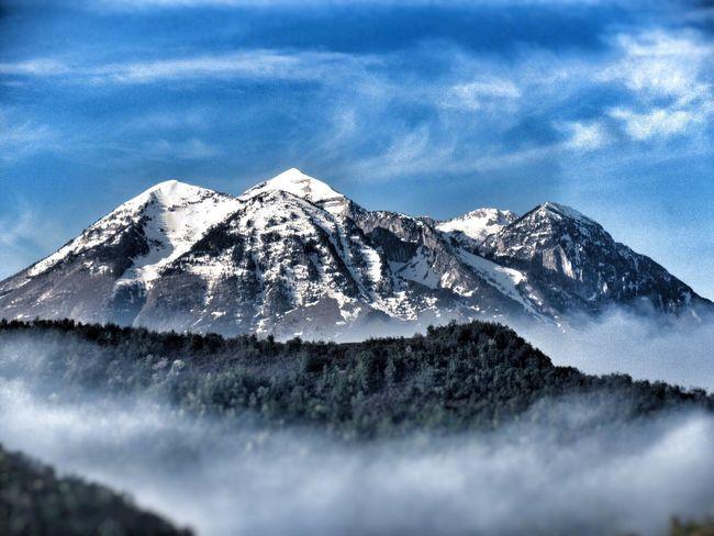 Tomorr Albania Shqiperia Mt. Tomorr Snowcapped Mountain Mountain Scenics Mountain Range Landscape Peak