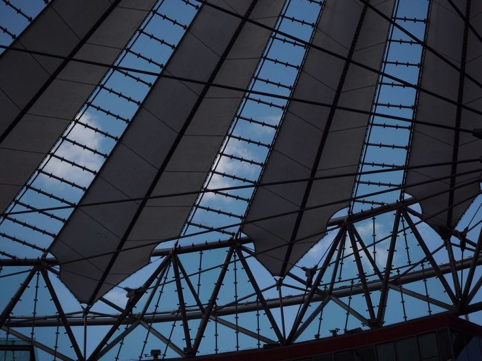 Potsdamer Platz Potsdamer Platz Berlin Low Angle View Architecture Built Structure Day No People Modern Clear Sky Technology
