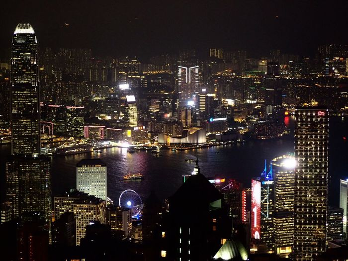 HongKong Nofilter Night Lights Worldclass Thepeak Peak