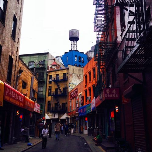Water Tower China Town NYC LIFE ♥ Taking Photos