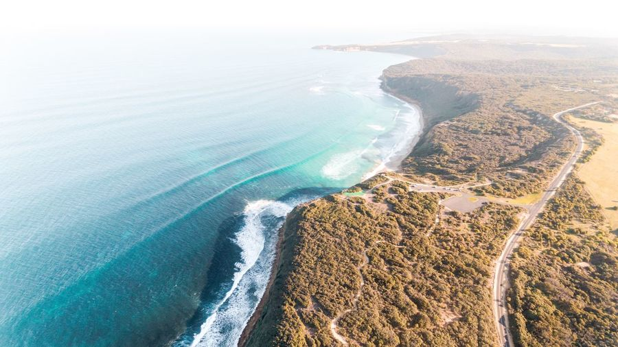 Above one of Australia's most famous beaches Australia Dronephotography Drone  Surf Aerial View Beach Outdoors Day Horizon Over Water Sky Wave Colour Your Horizn