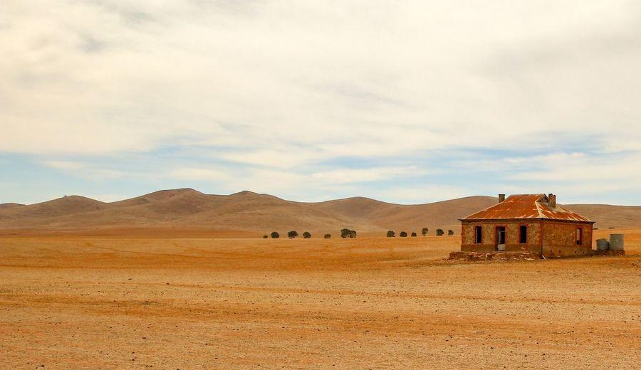 Desert Arid Climate Mountain Abandoned Sky Landscape Architecture Residential Structure Drought Barren Arid Landscape Climate Semi-arid Extreme Terrain Arid