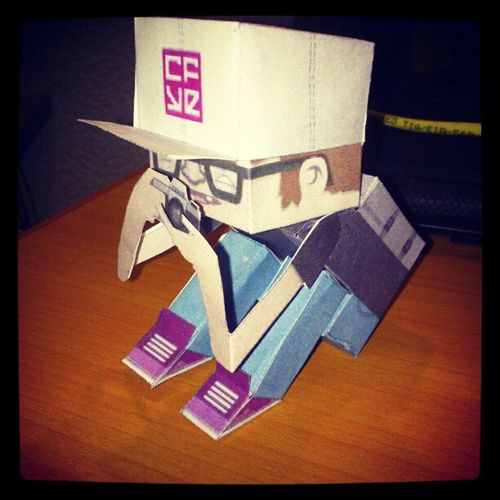 Cubecraft Crackboy Photograph