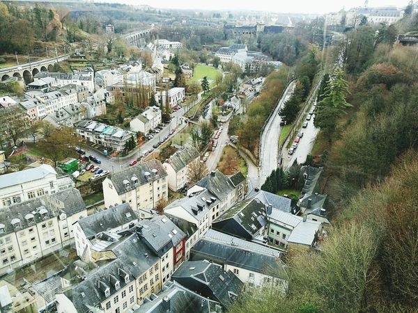 Luxembourg High Angle View Aerial View Architecture Cityscape Luxembourg Luxembourg In Photos  Pfaffenthal Elevator Beauty Large Group Of People Day Outdoors People Leisure Activity Adults Only Real People Women Men Adult Togetherness Teamwork Crowd