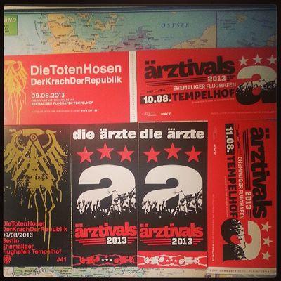 3x Tempelhof :D Da  Dth Ärztivals KrachDerRepublik Berlin