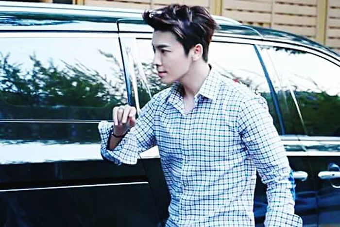 ◽◽ Style Tumblr Hair Style Superjunior Donghae Suju Elf Hansome Tumblrboy Weheartit Leedonghae