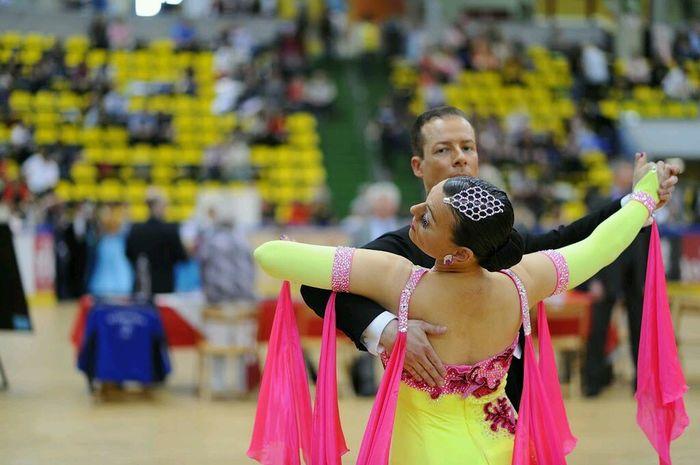 Dancing Portrait Great Performance Showdance
