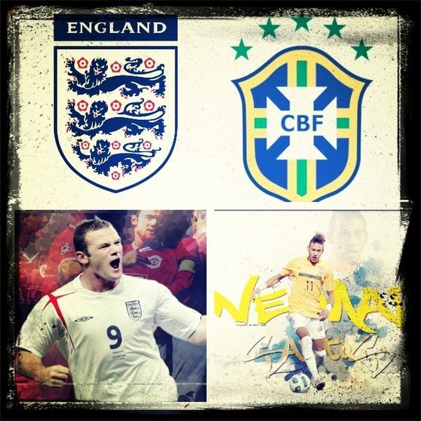Brazil or England who is gonna win today Like for brazil comment for England