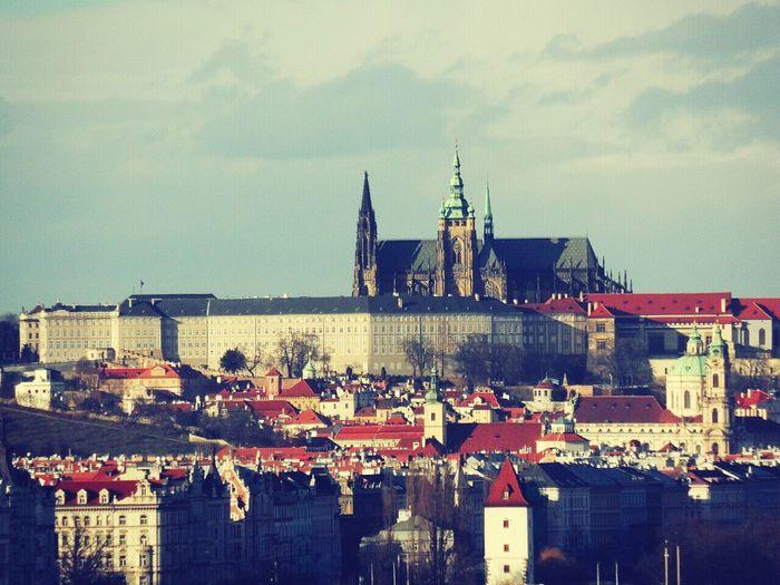 Prague Castle Prague Architecture January