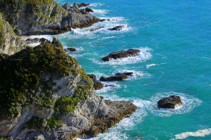 Blue Water Capo Vaticano Cliff Cliffs High Angle View Mediterranean  Nature No People Rock Formation Rock Formation Rocks Rocky Rocky Shore Sea Sea Rocks Sea Waves Seaside Travel Destinations Turquoise Turquoise Water Water